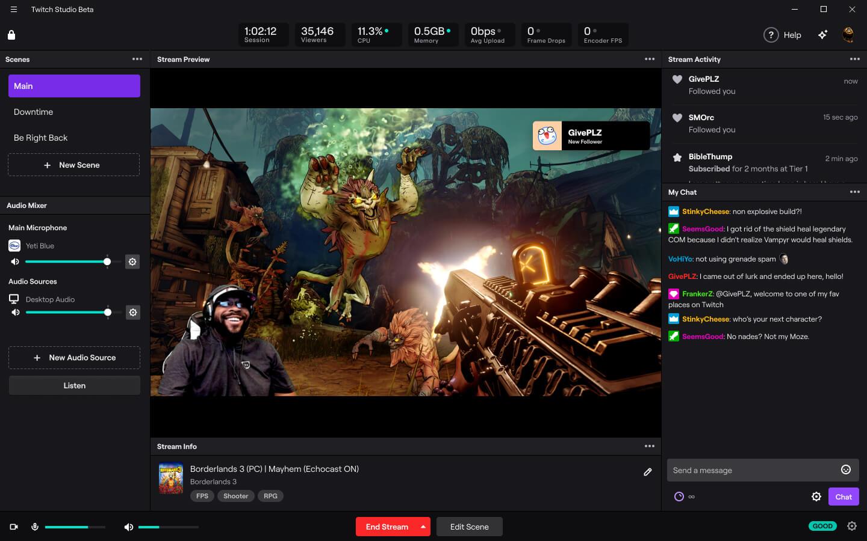 Download Twitch Studio - Twitch